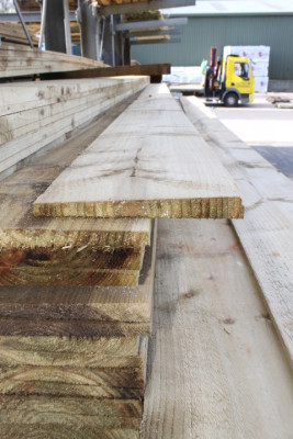 Timberstore Feather Board 2ex 4.8m x 200mm